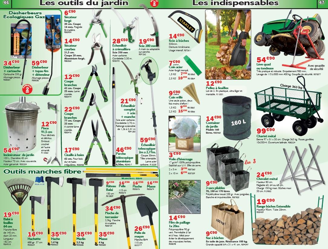 Outils de jardinage Brico M