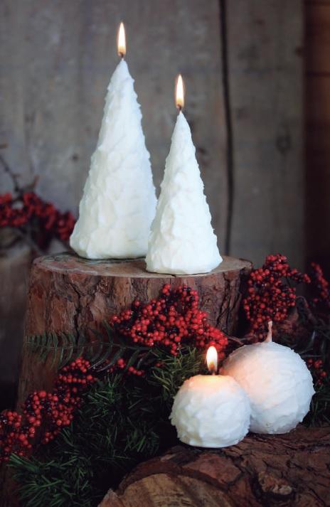 bougies de Noël brico M astaffort
