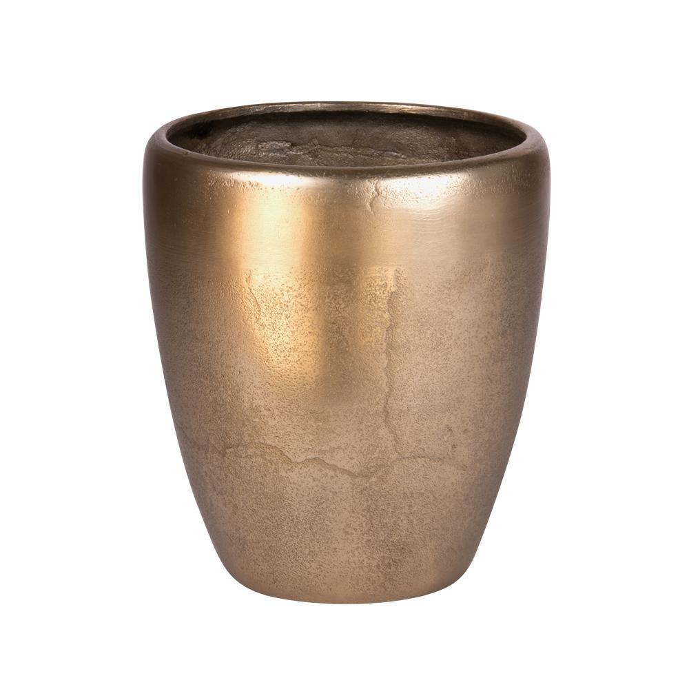 Vase en métal doré idée cadeau brico m